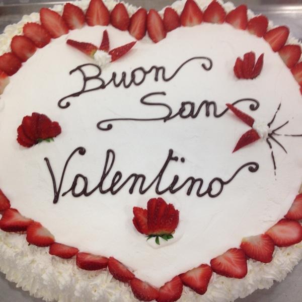torta fantasia san valentino